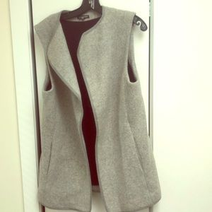 Grey Wool Club Monaco vest size medium